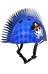 C-Preme Raskullz Eyepatch Pirate Mohawk Hjälm Barn blå
